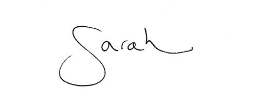 sarah sig